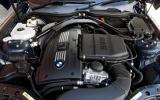 BMW Z4 twin-turbo naturally aspirated straight six engine