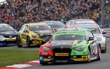 Colin Turkington wins the 2014 Dunlop MSA BTCC championship