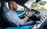 Driving the Bugatti Chiron