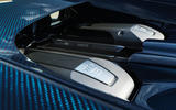 Bugatti Chiron engine bay