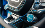 Bugatti Chiron ignition button