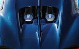 Bugatti Chiron rear haunches