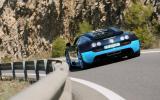 Bugatti Veyron Vitesse cornering