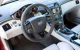 Cadillac CTS-V interior