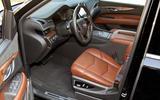 Cadillac Escalade driver's seat