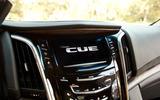 Cadillac Escalade infotainment system