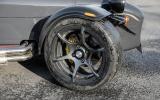 13in black Caterham 620S alloys