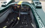 Caterham SP300R's interior