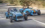 Caterham 620R vs. Caterham 160 - battle of the Sevens