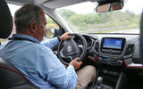 Julian Rendell driving the Changan CS55
