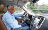 Julian Rendell driving the Changan CS95