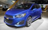 Geneva motor show: Chevrolet Aveo RS