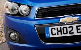 Chevrolet Aveo headlights