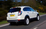Chevrolet Captiva rear