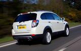 Chevrolet Captiva rear
