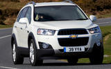 Chevrolet Captiva cornering