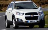 Chevrolet Captiva cornering