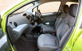 Chevrolet Spark front seats