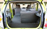 Chevrolet Spark boot space