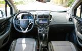 Chevrolet Trax dashboard