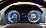 Chrysler 300C instrument display