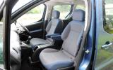 Citroën Berlingo front seats