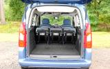 Citroën Berlingo boot space