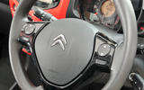 Citroen C1 steering wheel