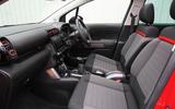 CItroen C3 Aircross 2018 review front seats