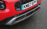 Citroen C3 Aircross 2018 review front bumper