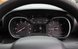 CItroen C3 Aircross 2018 review instrument cluster