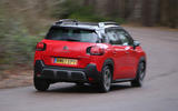 Citroen C3 Aircross 2018 review on the road rear