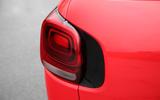 Citroen C3 Aircross 2018 review rear lights