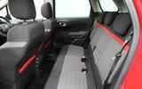 CItroen C3 Aircross 2018 review rear seats