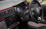 Citroën C3 centre console