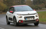 Citroën C3 hard cornering