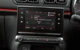 Citroën C3 infotainment system