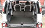 Citroën C3 Picasso seat flexibility