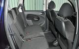 Citroën C3 Picasso rear seats