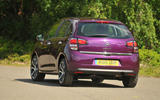 Citroën C3 rear cornering