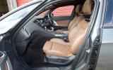 DS 5 front seats
