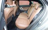 DS 5 rear seats