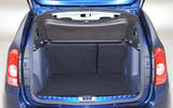 Daica Duster boot space