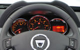 Dacia Duster instrument cluster