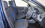 Dacia Duster interior