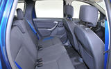 Dacia Duster rear seats