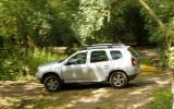 There are three 4WD settings on the Dacia Duster - front, permanent or auto
