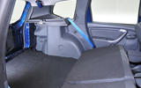 Dacia Duster seating flexibility