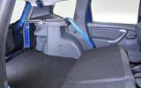 Dacia Duster seating flexibility