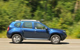 Dacia Duster side profile